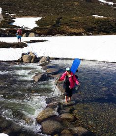 Backcountry Australia crossing the Snowy River