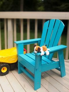 South Beach Kids Adirondack Chair | POLYWOOD Outdoor Furniture | Pinterest  | Kid, Chairs And Products
