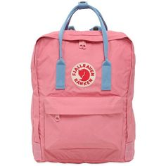 Fjall Raven Women 16l Kanken Nylon Backpack ($110) ❤ liked on Polyvore featuring bags, backpacks, pink, detachable backpack, fjallraven backpack, fjallraven bag, fjällräven and backpack bags
