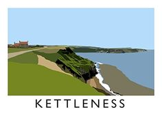 Kettleness Art Print (A3) Chequered Chicken http://www.amazon.co.uk/dp/B00MLCKIK2/ref=cm_sw_r_pi_dp_pb95tb12QFYNS