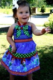 The Disney Princess Halter Top & Skirt Set by www.BlissyCouture.com
