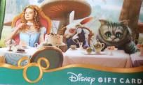 NEW DISNEY $25.00 GIFT CARD, WE PAY SLICE, SHIPPING, PHOTO $$ & GIFT BAGS W TAGS