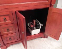 OR SET IN IN THE CABINET: STYLEAWAY - BLACK; Organizer/Hanger for Curling Iron, Flat Iron, Blow Dryer, Hair Styling Products: Home & Kitchen