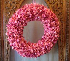 Pink Balloon Wreath