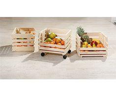 Rollwagen Fruits, B 37 cm