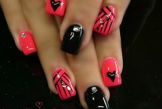 Cute Nail Designs For Acrylics