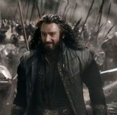 Thorin greets Dain on the battlefield [BOTFA]