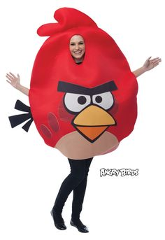 Angry Birds PM751813 Red One Size Adult