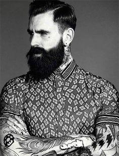 beards tattoos