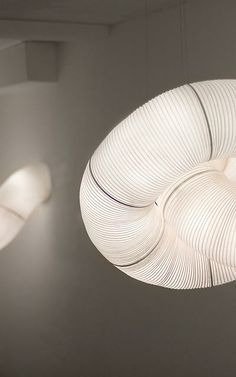 7 | A Winding, Modern Take On Japanese Paper Lanterns | Co.Design | business + design