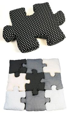 Pillow Puzzle - Awesome but I don't think i have the patience to make it!