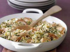 Ein Rezept für die ganze Familie: Hähnchen-Reispfanne - smarter - Zeit: 40 Min.   eatsmarter.de