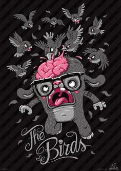 Posters by Andreas Krapf, via Behance