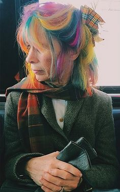 101 Real Girls Who Dare to Rock Rainbow Hair: If you thought that only celebrities can rock rainbow hair, think again.