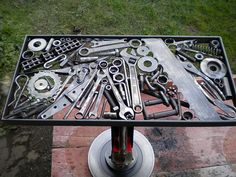 Tool Table, by B. Robinson | Flickr - Photo Sharing!