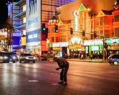 19 fotografías del sueño americano rompiéndose en las calles de Las Vegas