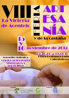 La VIII Feria de Artesanía y Castaña de la Victoria de Acentjeo [15 y 16 noviembre]