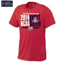 This Jansport T-shirt is uniquely designed for the NCAA Sweet 16, so make sure you don't miss out!