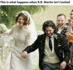 I hope Martin don't plan a vengeance