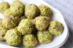 I have been making a kid-friendly version of these broccoli bites since my kids were really little.  I found it to be one of the easiest and tastiest ways