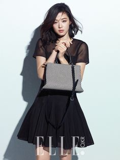 Jeon Ji Hyun Elle Korea February 2015 Look 1