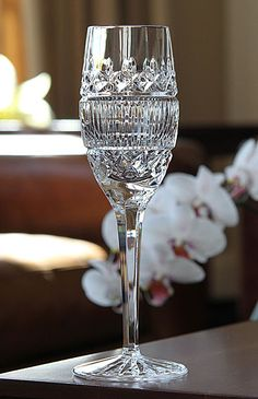 Waterford Celine Flute, Pair Crystal Wine Glasses, Crystal Glassware, Champagne Glasses, Waterford Crystal, Cut Glass, Clear Glass, Glass Art, Crystal Collection, Vase