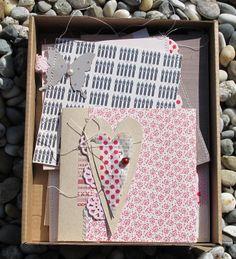 *karten* - kurs-thema der papierwerkstatt in 2012