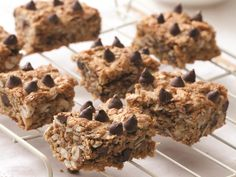 These easy-to-make bars are great for a quick snack. They're made with quinoa flour and quinoa flakes, so they're nutritious and gluten-free, too.
