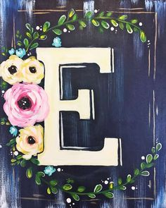 Browse our upcoming painting classes and events at Memorial City Pinot's Palette! Reserve your seat for the best paint and sip experience today! Easter Paintings, Name Paintings, Christmas Paintings On Canvas, Simple Canvas Paintings, Easy Canvas Painting, Christmas Canvas, Spring Painting, Diy Canvas Art, Diy Painting
