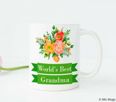 Easter cups easter basket gifts easter mugs easter gifts for kids worlds best grandma mug new grandma mug grandma cup grandma gifts gifts for grandma birthday gift for grandma grandmother gift nana gift w50 negle Gallery