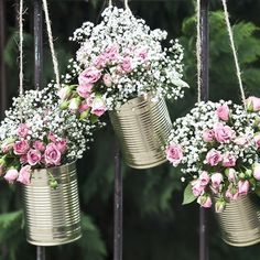 Latas decorativas | Una Boda Original