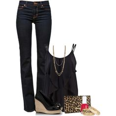 """""""Girls Night Out"""" by ohsnapitsalycia on Polyvore"""