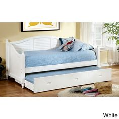 Srbica Cottage Style Daybed with Twin Trundle | Overstock™ Shopping - Great Deals on Beds