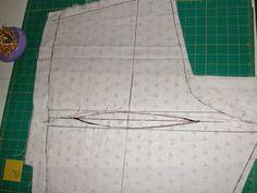 Stitches and Seams: Alterations: Fisheye Dart (Pants)