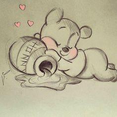 #sketch #goodnight #gn : : : : : : : #doodle ##winnie #winniethepooh #nice #honey #dialy #disney #disneyart #disneyworld #drawing #draw #그림 #رسم #رسمي #رسمتي by diana1992d