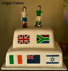 Soccer Cakes by Sugar Cakes