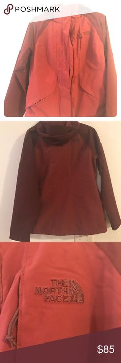 The North Face maroon windbreaker NWOT windbreaker/rain jacket from The North Face. Unsure of exact model because it was a gift without a tag, but after research I think it is a Venture jacket. The North Face Jackets & Coats Utility Jackets