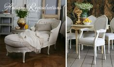 @Marybeth Farrell Slabbert -- Just for fun, check out this website -- I think you'd love the style of these French Country pieces!      French Country Furniture - Vintage Furniture - Antique Reproduction Furniture - Cottage Haven Interiors