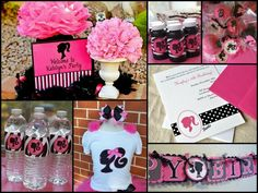 Links to Barbie Birthday Party Ideas
