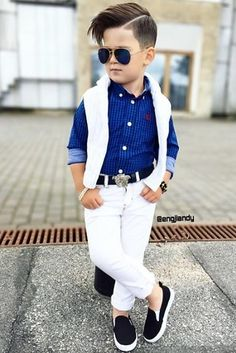 This Month's Best Street Style Looks of boy Kids Fashion - The Day Collections Toddler Boy Fashion, Little Boy Fashion, Child Fashion, Fashion Clothes, Little Boy Outfits, Baby Boy Outfits, Little Boy Style, Stylish Little Boys, Outfits Niños