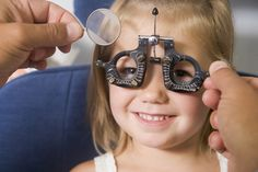 """Most children have healthy eyes, but there are conditions that you can't """"see."""" So this month, Children's Eye Health and Safety Month, make an appointment to have your kids' eyes checked. Kids Health, Health Tips, Children Health, Health Care, Women's Health, National Months, Kids Glasses, Eye Glasses, Vision Therapy"""