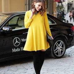 Zara yellow Long sleeve Dress