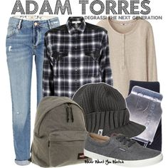 Inspired by Jordan Todosey as Adam Torres on Degrassi the Next Generation.