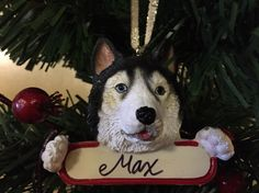 Max's first Christmas (tree ornament)