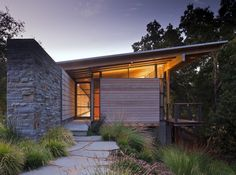 Halls Ridge Knoll Guest House in Santa Lucia Preserve, Carmel, California by Bohlin Cywinski Jackson
