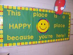 Back to School Bulletin Board by Jennifer Wilder: Bell Central School Center