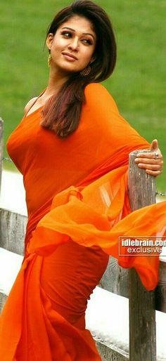 Beautiful Girl In India, Beautiful Blonde Girl, Beautiful Saree, Nayanthara In Saree, Nayanthara Hairstyle, Beautiful Bollywood Actress, Most Beautiful Indian Actress, Beautiful Actresses, Indian Natural Beauty