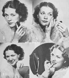 Excellent Tips To Incorporate Into Your Skin Care Routine - Beach Beauty Life 1930s Makeup, Vintage Makeup, Vintage Beauty, Winter Beauty Tips, Beauty Tips For Teens, Eleanor Powell, Makeup Tips, Beauty Makeup, Vaseline Beauty Tips