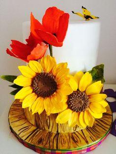 Sunflower cake …
