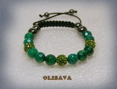 Women  Buddha Mala bracelet  in faceted Azurite Chrysocolla